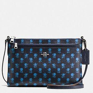 Coach Badlands Floral Crossbody Bag